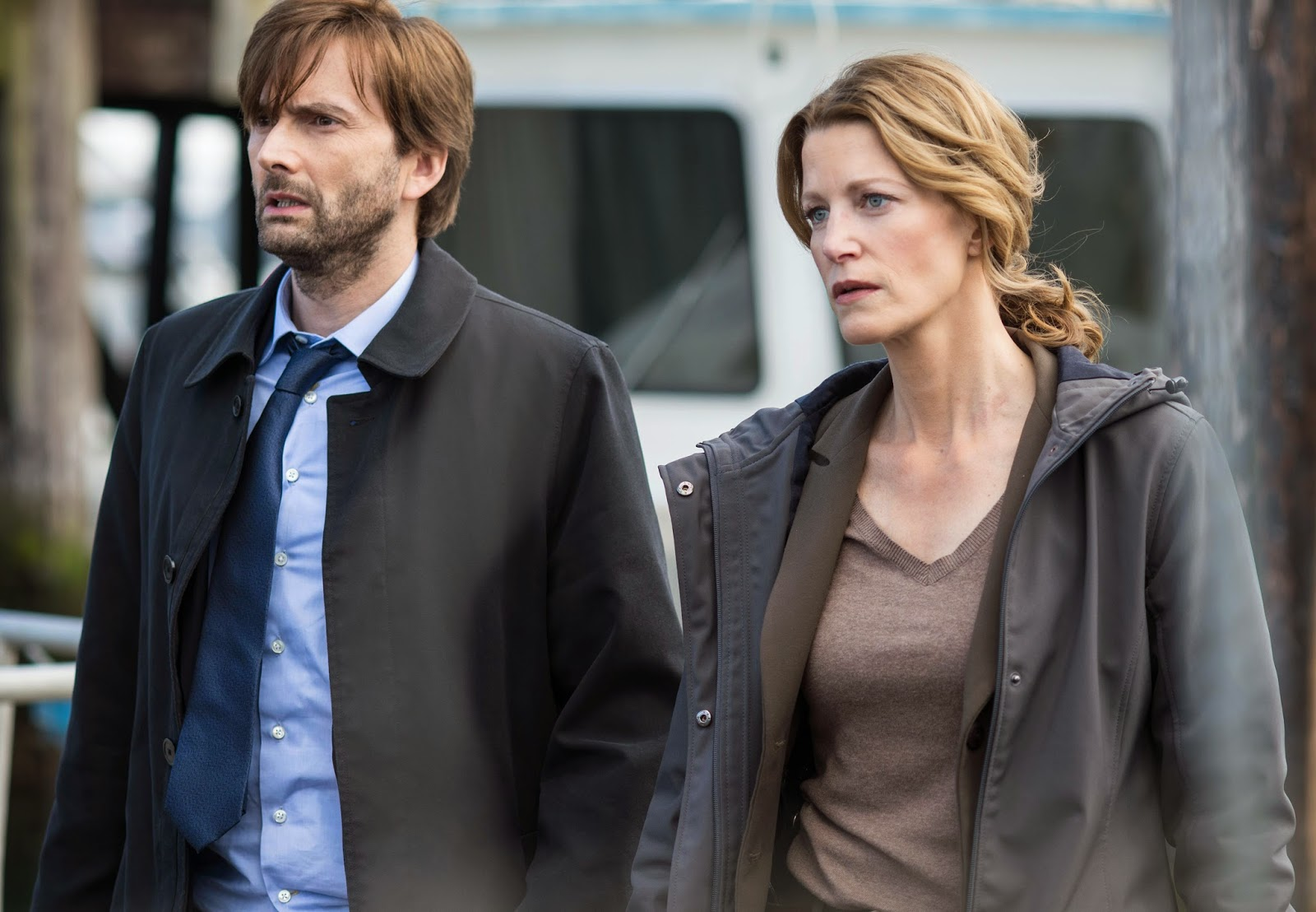 David Tennant in Gracepoint Episode Four
