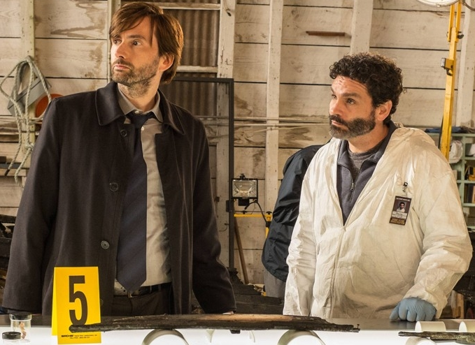 David Tennant in Gracepoint Episode Five